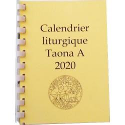Calendrier liturgique 2020