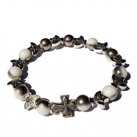 Bracelet Esprit Saint - blanc